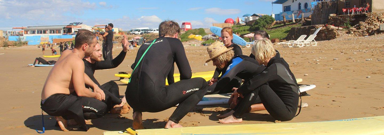 Buche mit Pro Surf Marokko ab 299 € pro Woche