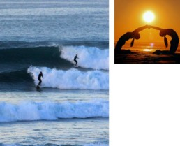 Surf and Yoga package presentation