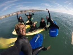 Learn To Surf In Morocco & beginners and intermediate & Pro Surf School
